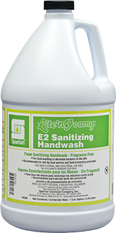 Picture of item SPT-315704 a Lite'n Foamy® E2 Hand Wash & Sanitizer.  1 Gallon.