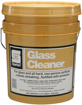 Picture of item 662-109 a Glass Cleaner.  5 Gallon Pail.
