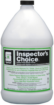 Picture of item 605-101 a Inspector's Choice®.  Clinging, Foaming Grease Release Cleaner.  1 Gallon.