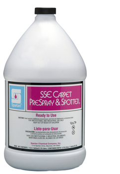 Picture of item 650-103 a SSE Carpet Prespray & Spotter®.  Hydrogen Peroxide Based Carpet Spotting Solution.  1 Gallon.