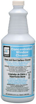 Picture of item 662-101 a Concentrated Window Cleaner.  Glass and Hard Surface Cleaner.  1 Quart.
