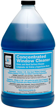 Picture of item 662-106 a Concentrated Window Cleaner.  Glass and Hard Surface Cleaner.  1 Gallon.