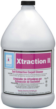 Picture of item 650-108 a Xtraction II®.  Low Foam Carpet Cleaner for Extractors.  1 Gallon.