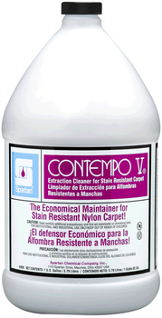Picture of item 650-107 a Contempo V®.  Extraction Cleaner for Stain-Resistant Carpet.  1 Gallon.