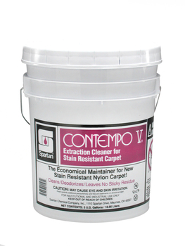 Picture of item 650-111 a Contempo V®.  Extraction Cleaner for Stain-Resistant Carpet.  5 Gallon Pail.