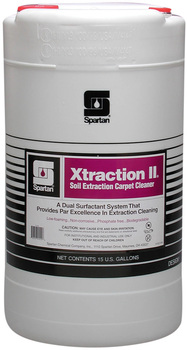 Picture of item 650-112 a Xtraction II®.  Low Foam Carpet Cleaner for Extractors.  15 Gallon Drum.