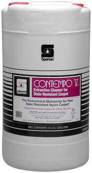 Picture of item 650-114 a Contempo V®.  Extraction Cleaner for Stain-Resistant Carpet.  15 Gallon Drum.