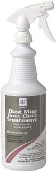 Picture of item 635-201 a Dust Mop/Dust Cloth Treatment.  Includes 3 trigger sprayers.  1 Quart.
