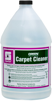 Picture of item 650-126 a Green Solutions® Extraction Carpet Cleaner.  1 Gallon.