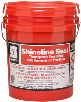Picture of item 681-108 a Shineline Seal®.  Thermoplastic Floor Sealer.  5 Gallon Pail.