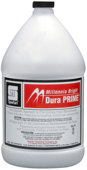 Picture of item 682-223 a Millennia Bright Dura Prime®.  Conditions, protects and laminates old, damaged and new resilient tile, terrazzo, linoleum,etc.  1 Gallon.