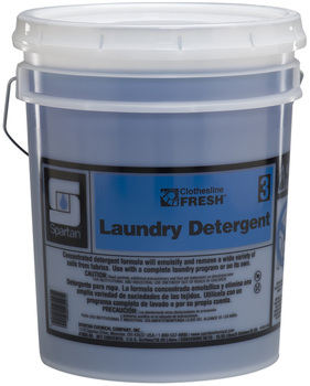 Picture of item 620-606 a Clothesline Fresh™ #3 Laundry Detergent.  5 Gallons.