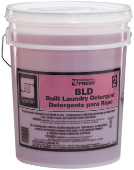 Picture of item 620-610 a Clothesline Fresh™ #2 BLD, Built Laundry Detergent.  5 Gallons.