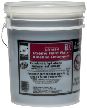 Picture of item 620-628 a Clothesline Fresh™ #10 Xtreme Hard Water Alkaline Detergent.  5 Gallons.