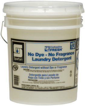 Picture of item 620-632 a Clothesline Fresh™ #13 No Dye-No Fragrance Laundry Detergent.  5 Gallons.