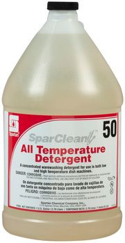 Picture of item 619-511 a SparClean® All Temperature Detergent.  1 Gallon. #50
