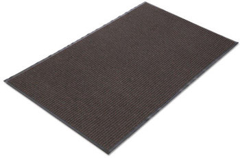 Picture of item 550-107 a Crown Needle-Rib™ Wiper/Scraper Mat,  Polypropylene, 48 x 72, Brown