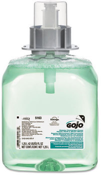 Picture of item 670-157 a GOJO® Luxury Foam Hair & Body Wash,  1250mL Refill, Cucumber Melon Scent