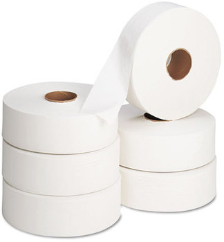 "Picture of item 887-117 a Georgia Pacific® Professional envision® Jumbo Bathroom Tissue,  12"" diameter, 2000ft, 6 Rolls/Carton"