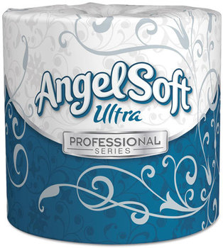 Picture of item 887-128 a Georgia Pacific® Professional Angel Soft ps Ultra® Two-Ply Premium Bathroom Tissue,  White, 60 Rolls/Carton