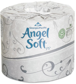 Picture of item 887-130 a Georgia Pacific® Professional Angel Soft ps® Premium Bathroom Tissue,  450 Sheets/Roll, 40 Rolls/Carton