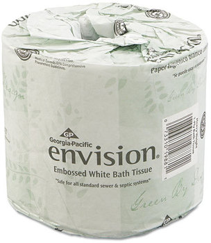 Picture of item 887-110 a Georgia Pacific® Professional envision® Bathroom Tissue,  550 Sheets/Roll, 80 Rolls/Carton