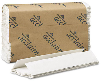 Picture of item 869-102 a Acclaim® C-Fold Paper Towels. 10.1 X 13.2 in. White. 2400 towels.