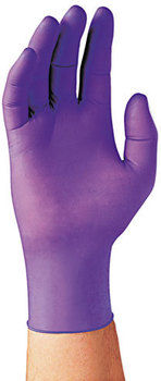 Picture of item KIM-55083 a Kimberly-Clark Professional* PURPLE NITRILE* Exam Gloves,  Large, Purple, 1000/Carton