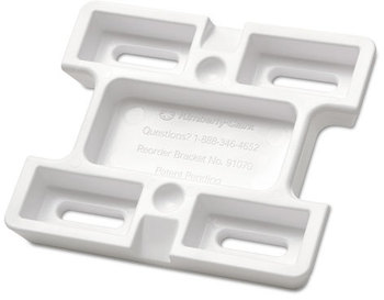 Picture of item 889-570 a Kimberly-Clark Professional* Mounting Bracket for Skin Cleanser System,  White