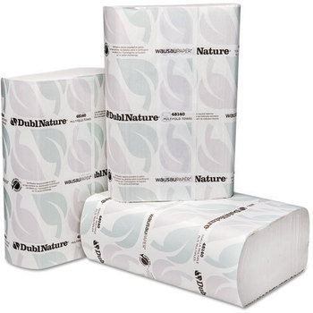 Picture of item 872-506 a DublNature® Multifold Towel.  9 1/8 X 9 1/2 in. White. 4000 towels.