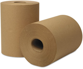 Picture of item 875-506 a EcoSoft® Universal Roll Towels. 8 in X 425 ft. Natural color. 12 rolls.