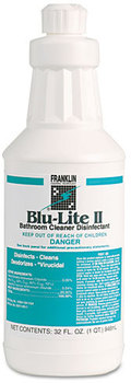 Picture of item H878-115 a Franklin Cleaning Technology® Blu-Lite II Disinfectant Acid Bowl Cleaner,  32oz Bottle, 12/CT
