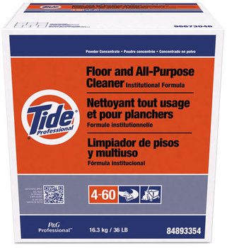 Picture of item 620-901 a Tide® Professional™ Floor and All-Purpose Cleaner,  36lb Box